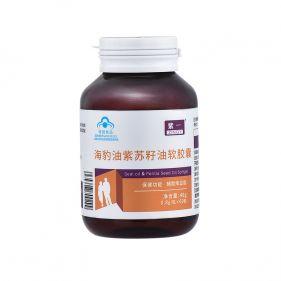 紫一 海豹油紫苏籽油软胶囊 0.8g*60粒
