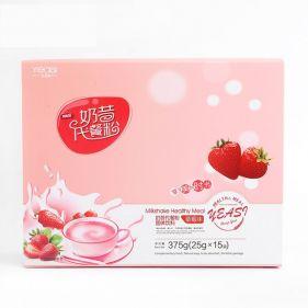 一氏国际  奶昔代餐粉 膳食纤维代餐粉 375g(25g×15袋)盒