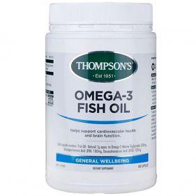 新西兰 Thompson's/汤普森 omega欧米茄-3 深海鱼油软胶囊400粒