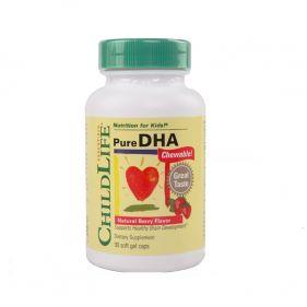 美国 CHILDLIFE/童年时光 儿童DHA胶囊 90粒*瓶