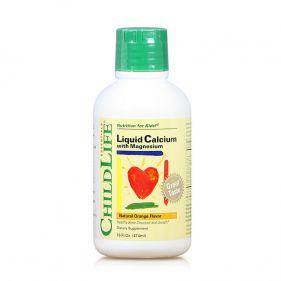 美国 童年时光/CHILDLLFE 钙镁锌口服液 474ml*瓶