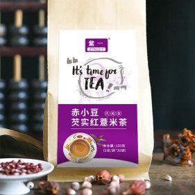 紫一 赤小豆芡实红薏米茶