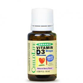 美国 童年时光/CHILDLLFE 维生素D3滴剂 10ml*瓶