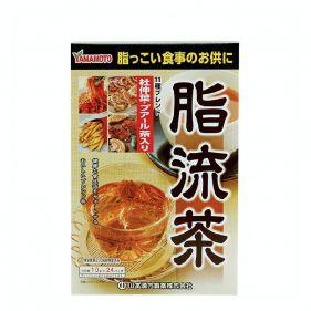 日本 山本汉方 脂流茶润肠酵素茶 10g*24袋*盒