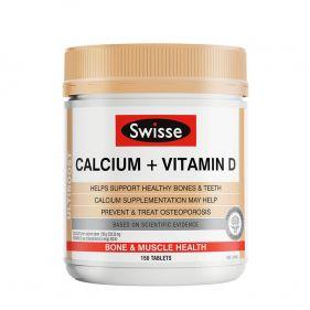 澳洲Swisse  钙片+维生素D/柠檬酸钙 150粒*瓶